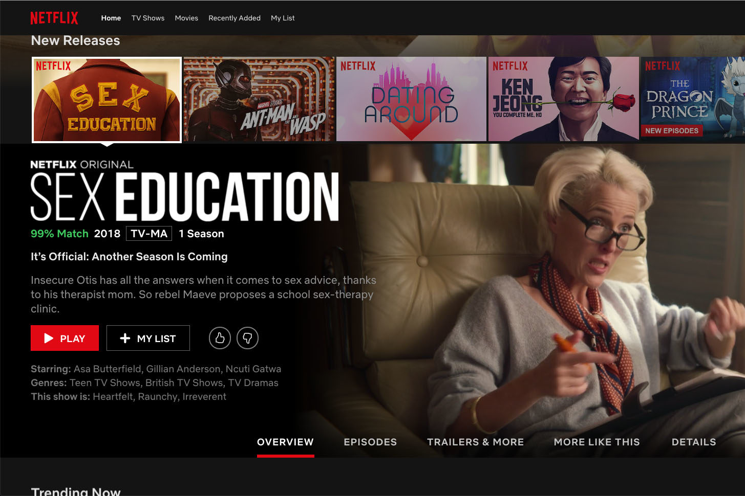 Yes, I'm Still Watching: Netflix and the Streaming Ecosystem